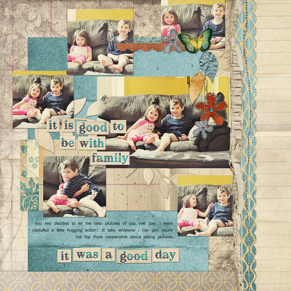 Good Day layout uses The Good Life Collection
