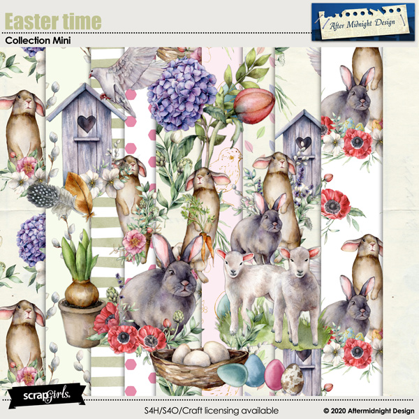 Easter time Collection Mini by Aftermidnight Design