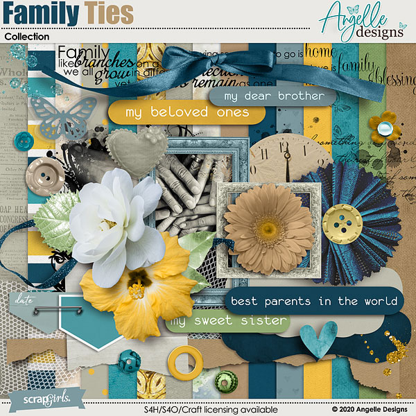 Family Ties Collection by Angelle Designs
