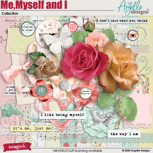 Me, Myself and I Collection by Angelle Designs