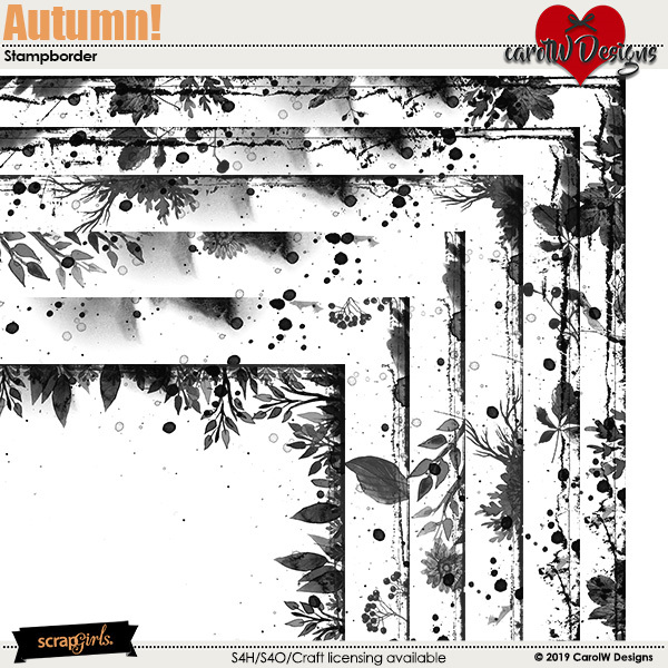 ScrapSimple Digital Layout Collection:Autumn!