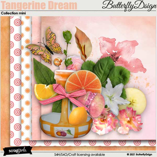 Tangerine Dream by ButterflyDsign