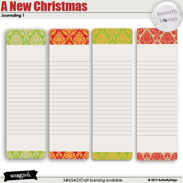 A new Christmas Journal cards 1