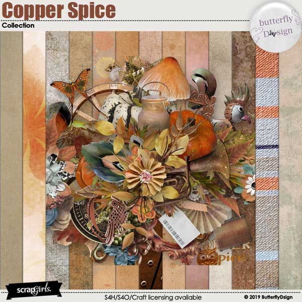 Copper Spice Collection