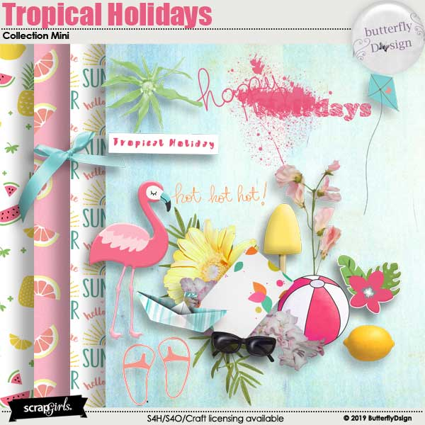 Tropical Holidays Collection