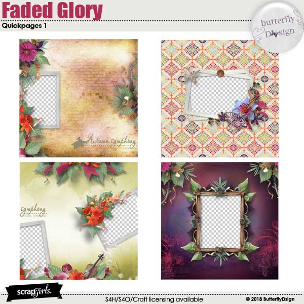 Faded Glory Quickpages 1