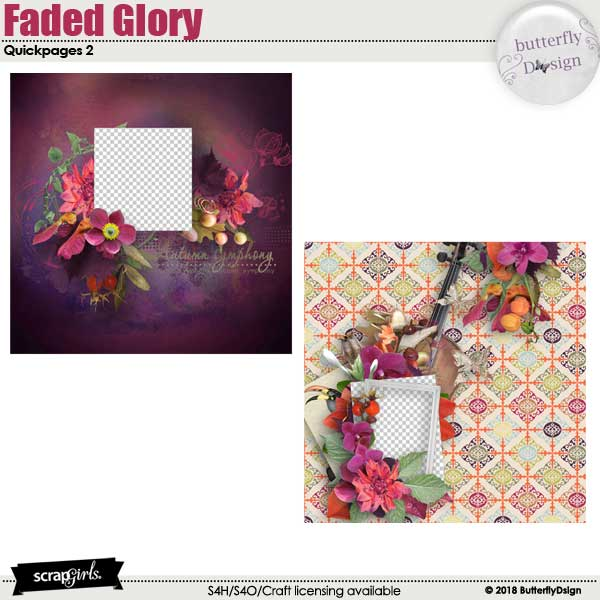 Faded Glory Quickpages 2