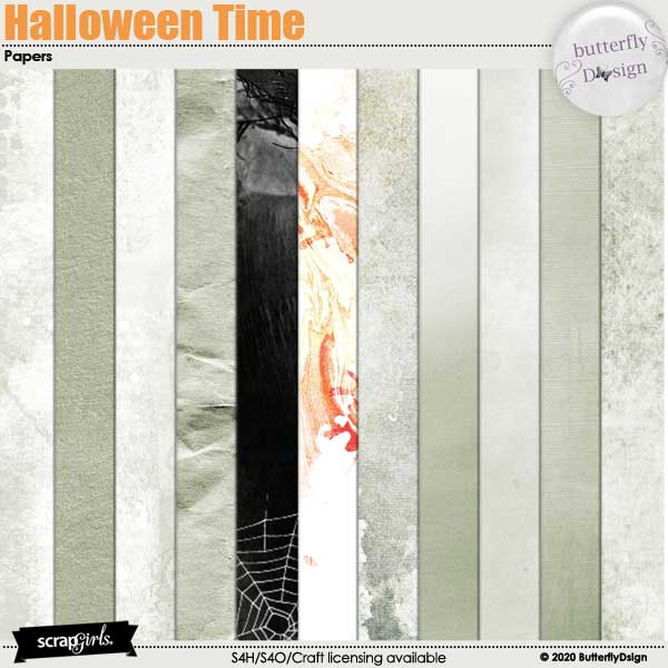 Halloween Time Papers
