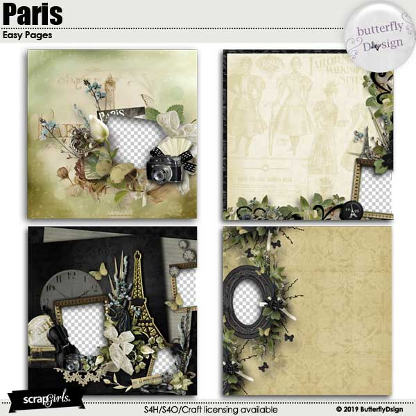 Paris Easy Pages _ Quickpages