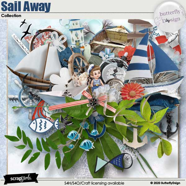 Sail Away Collection by ButterflyDsign