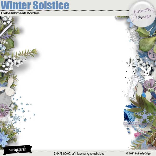Winter Solstice Borders page