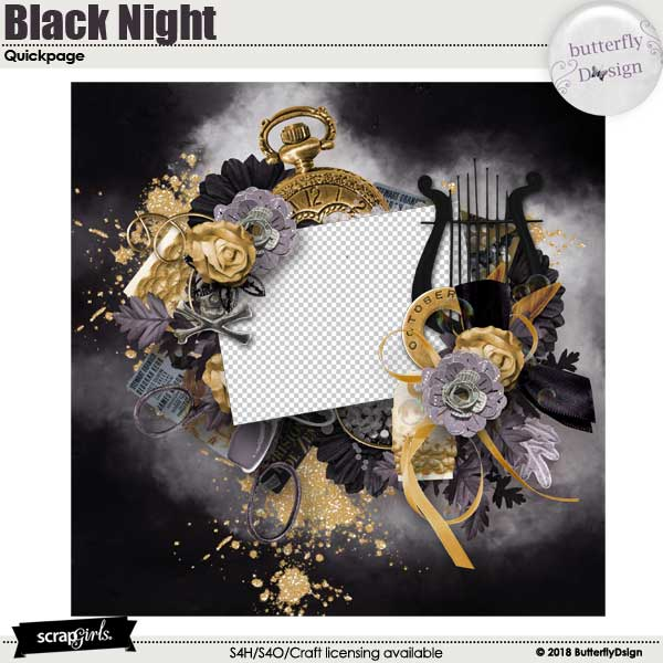 Black Night Quickpage