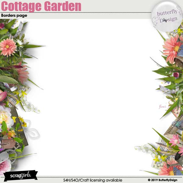 Cottage Garden Borders page