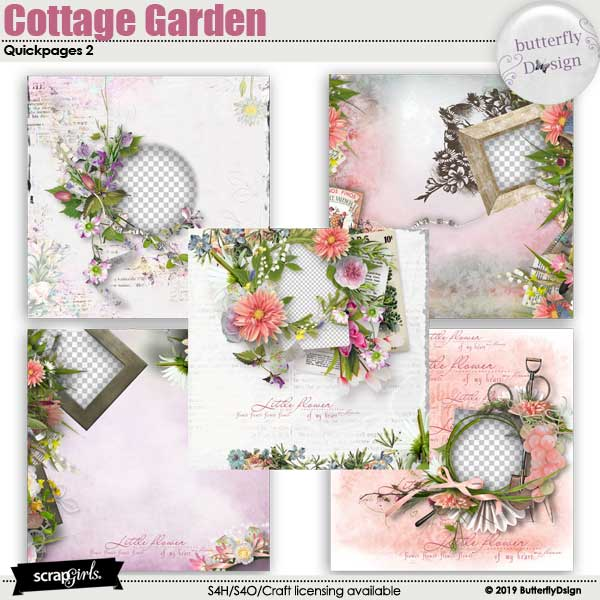 Cottage Garden Quickpages 2
