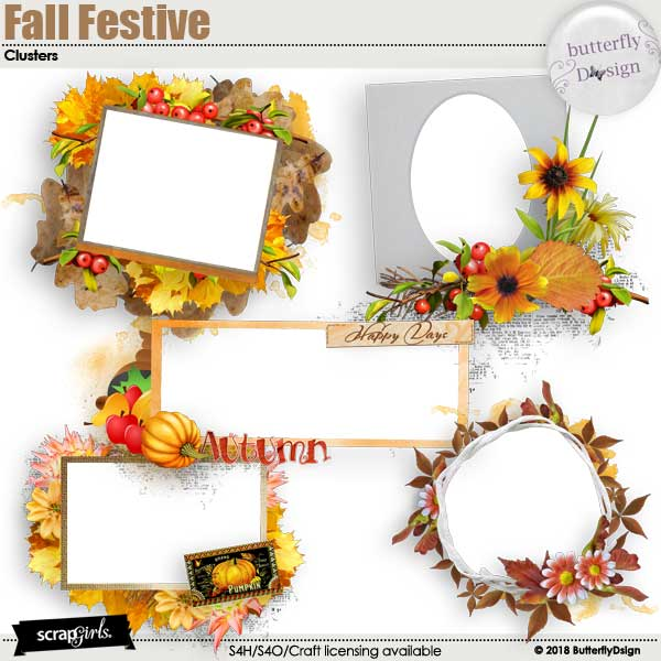 Fall festive Clusters