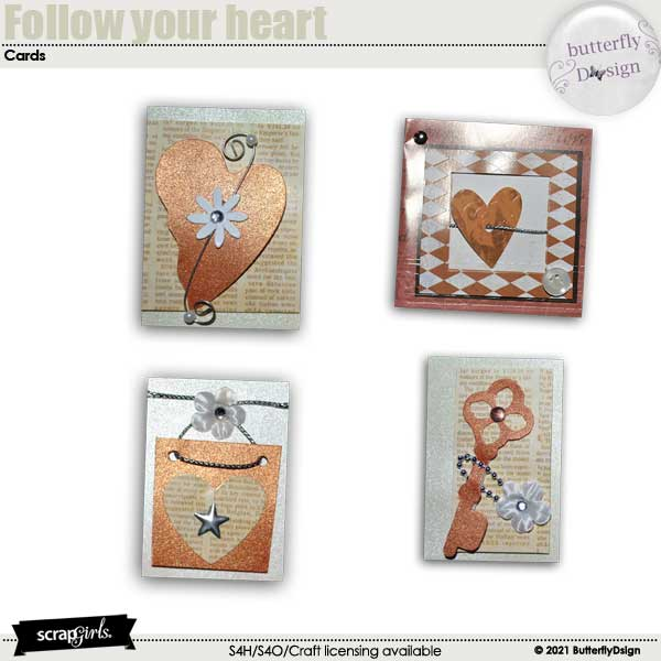 Follow Your Heart _ Love Cards