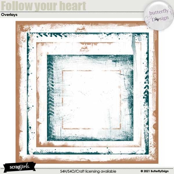 Follow Your Heart _ Love Overlays