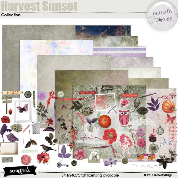 Harvest Sunset Collection