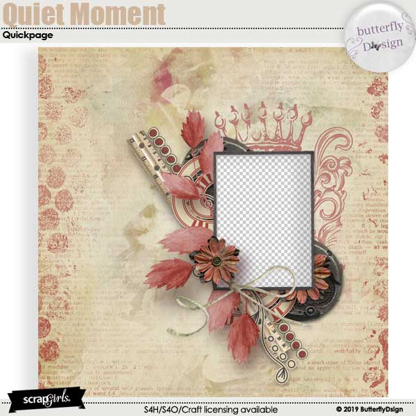 Quiet Moment Quickpage