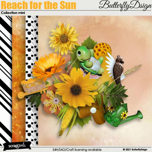 Reach for the Sun by ButterflyDsign