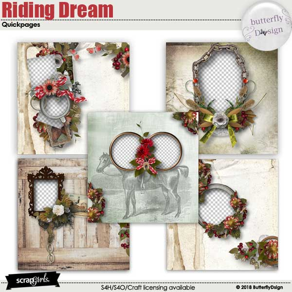 Riding Dream Quickpages