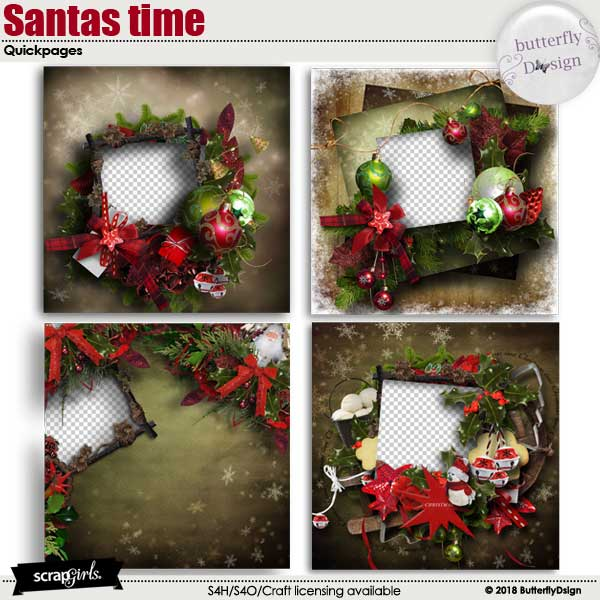 Santas Time Quickpages