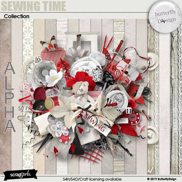 Sewing Time Collection Biggie
