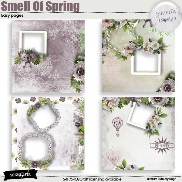Smell Of spring Easy pages