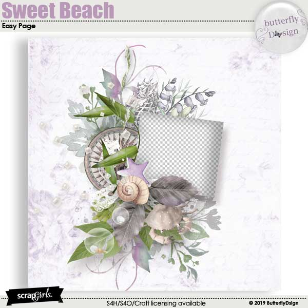 Sweet Beach Easy page