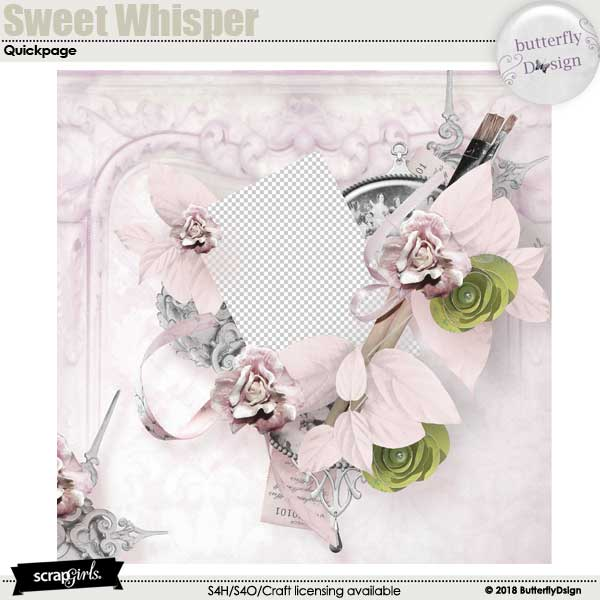 Sweet whisper quickpage