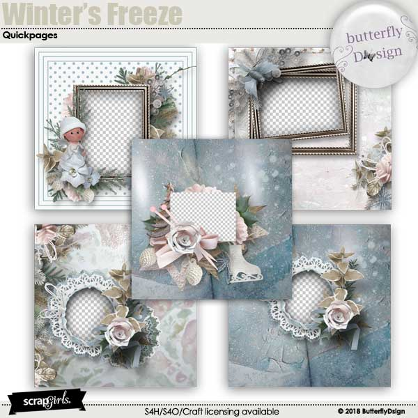Winter's freeze Quickpages