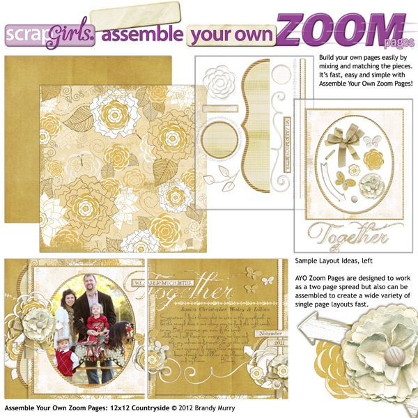 Assemble Your Own Zoom Pages: Countryside