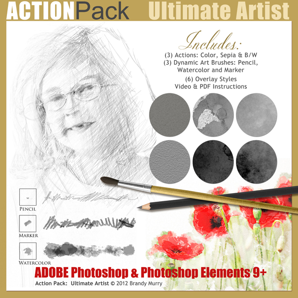 Also Available: Action Pack: Ultimate Artist (Sold Separately)