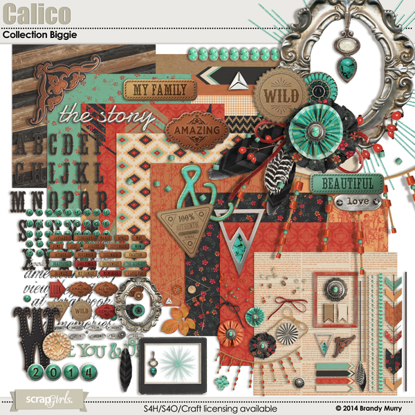 Calico Collection Biggie