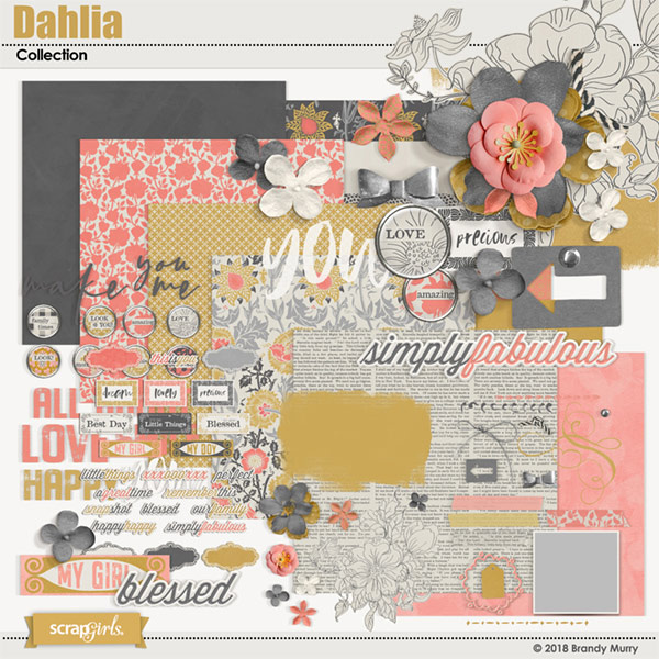 Dahlia Collection by Brandy Murry