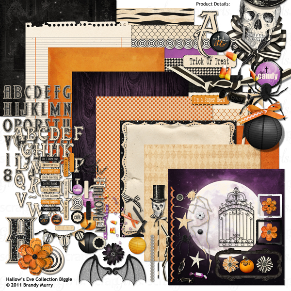 Also Available: Hallow's Eve Collection Biggie (Sold Separately)