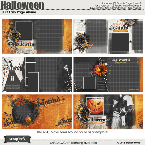 JIFFY Easy Page Album: Halloween