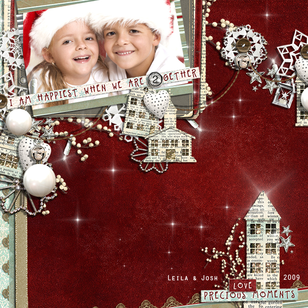 Happiest Together layout by Brandy Murry. See below for links to all products used in this digital scrapbooking layout.