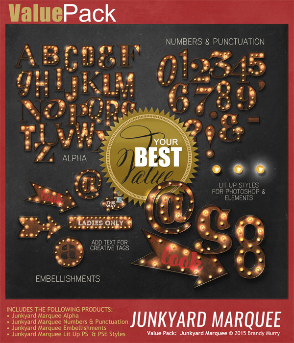 Value Pack: Junkyard Marquee
