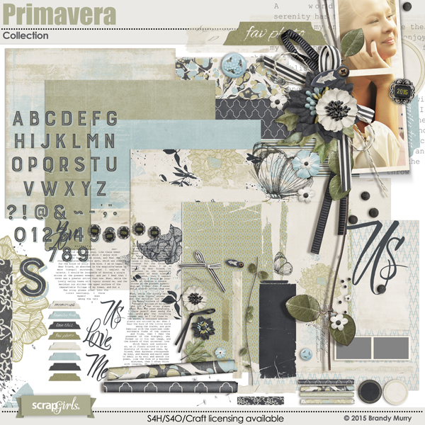 Included in the Value Pack: Primavera Collection
