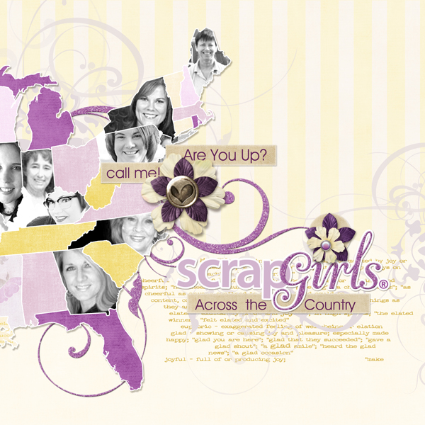<p>ScrapGirls Across the Country layout by Brandy Murry. See below for links to all products used in this digital scrapbooking layout.</p>