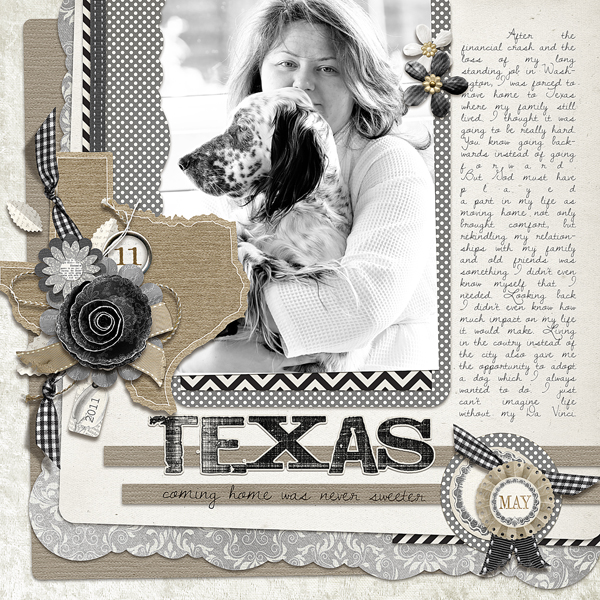 <p>Going Home layout by Brandy Murry. See below for links to all products used in this digital scrapbooking layout.</p>