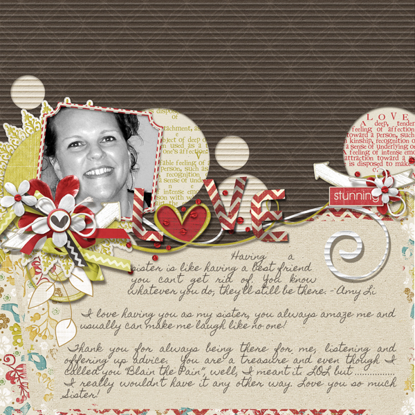 Blain by Brandy Murry. See below for links to all products used in this digital scrapbooking layout.