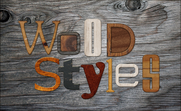 ScrapSimple Tools - Styles: Wooden Biggie Samples