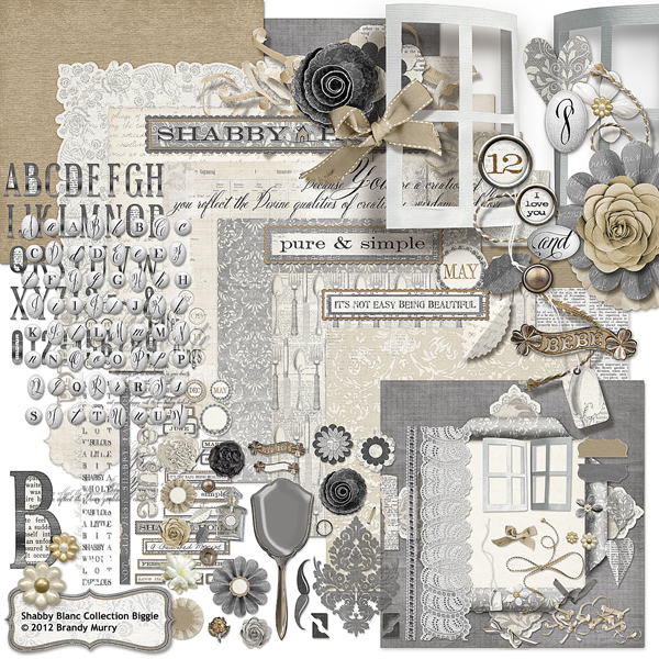 Shabby Blanc Collection Biggie