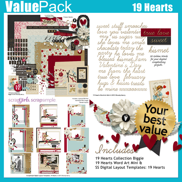 Also Available: Value Pack: 19 Hearts (Sold Separately)