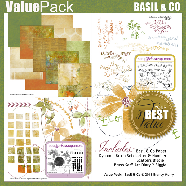 Also Available: Value Pack: Basil & Co (Sold Separately)