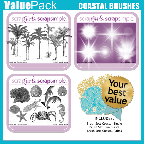 "<p>Also Available: <a href=""http://store.scrapgirls.com/product/25990/"">Value Pack: Coastal Brushes</a> (Sold Separately)</p>"