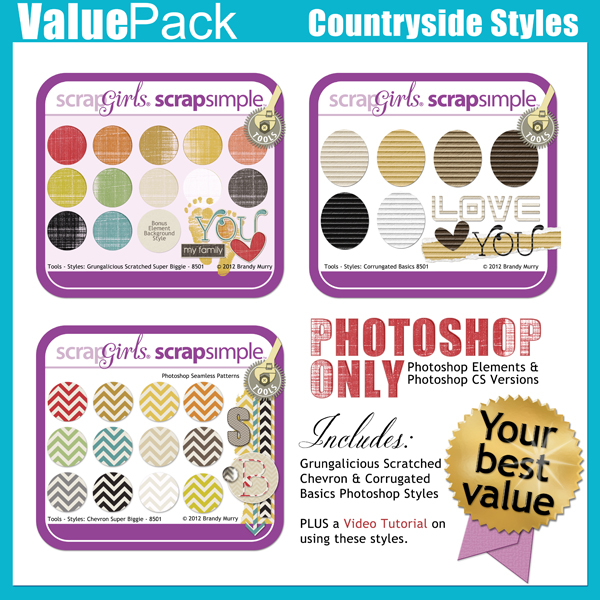 Value Pack: Countryside Styles