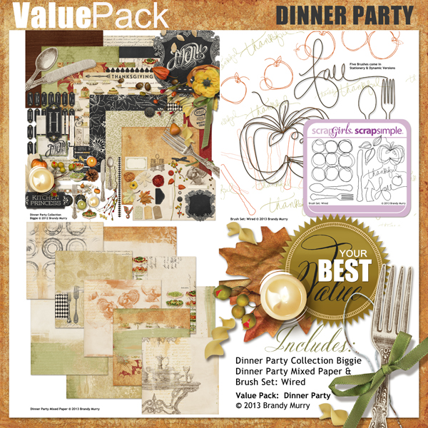 Also Available: Value Pack: Dinner Party